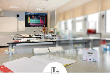 Laboratorio de ciencias escolar